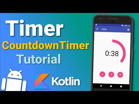Make a Timer App: Countdown Timer (Ep 2) - Android Kotlin Tutorial