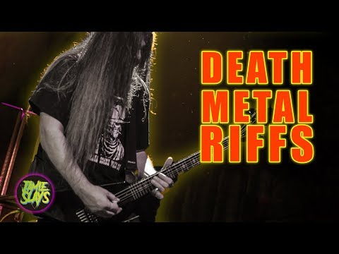 8 Greatest Death Metal Guitar Riffs Of All Time!