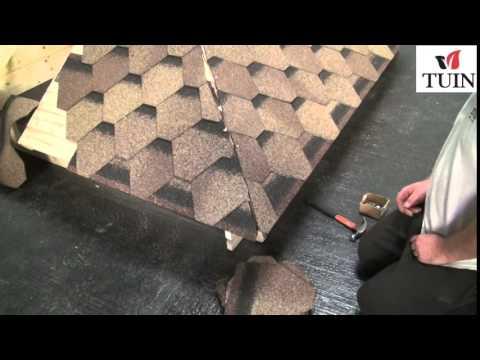 Tuin - Fitting Felt Shingles Pyramid Roof