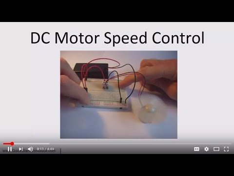 How to Control the Speed of a DC Motor - Electronics for Absolute Beginners