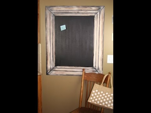 DIY: Painted Picture Frame   Decorating Ideas