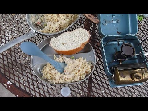 Quick Cheap Gourmet Backpacking Hiking Recipe Cooking Optimus 8R