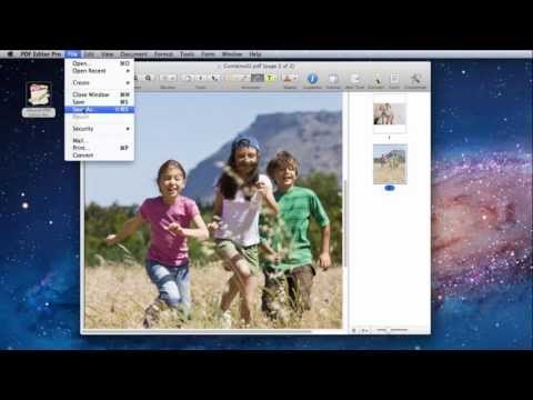 How to Convert a JPG to a PDF on Mac