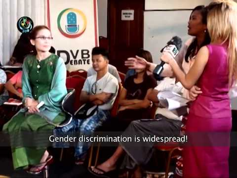 DVB Debate Report: Sexual harassment in Burma (English)