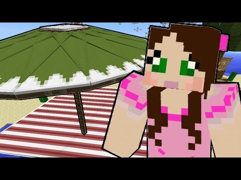 Minecraft: Tropical Vacation - GOING ON VACATION - Custom Map [1]