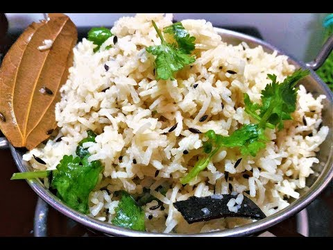Jeera rice recipe/jeera rice recipe in hindi/restaurant style jeera rice/indian basmati rice