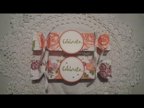 Cracker style gift box