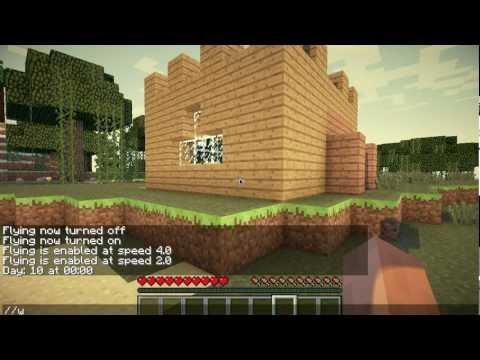 Minecraft 1.5.2 Singleplayer Commands Mod installieren - Worldedit im SP! Fly Deutsch Mac PC