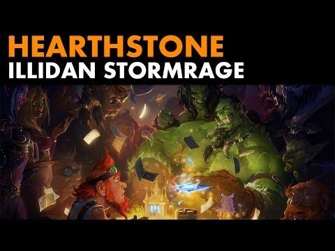 Hearthstone - Defeating Illidan Stormrage (Tutorial Battle)