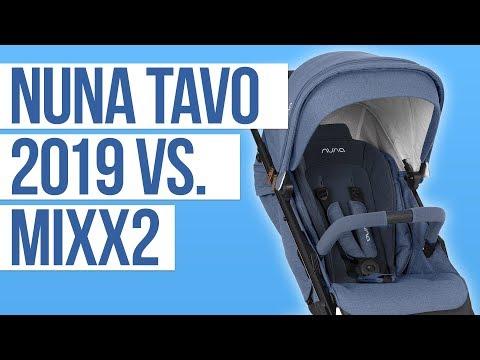 Nuna Tavo 2019 vs Nuna Mixx2 | Stroller Comparison