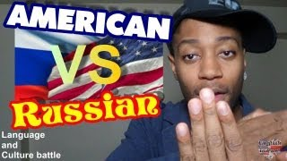 American English vs Russian