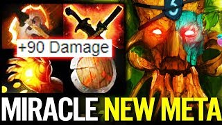 Miracle NEW IMBA Carry - Treant Protector Battle Fury Fun Game Dota 2