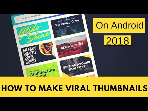 How To Make  Viral YouTube Thumbnails On Android