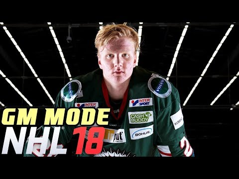 NEW GM MODE ROSTER - NHL 18