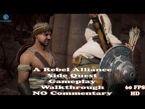 Assassin's Creed Origins | A Rebel Alliance | Side Quest | Gameplay | AC Origins | NO Commentary