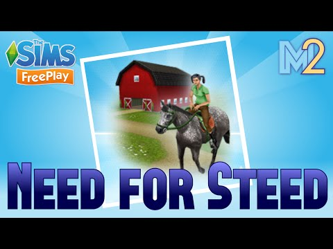 Sims FreePlay - Need for Steed Quest with Harry Potter and Hunger Games (Let's Play Ep 8)