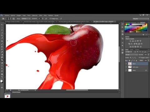 Cómo hacer efecto Paint Splash Photoshop | Koradi productions