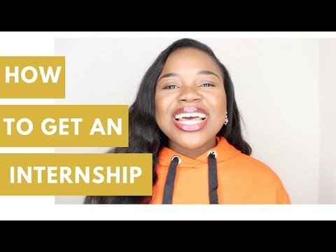 YOUR FIRST INTERNSHIP ADVICE | HOW TO GET AN INTERSHIP | MISSVARZ