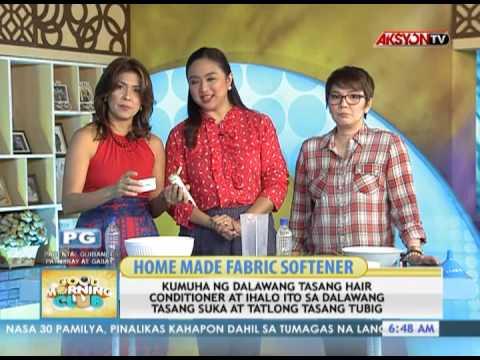 News5E | HOME MADE FABRIC SOFTENER | GMC JUNE 24, 2013