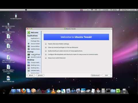 How to change the login screen of Ubuntu 11.04
