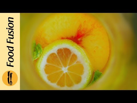 Fresh & Refreshing Peach Lemonade Recipe - Food Fusion