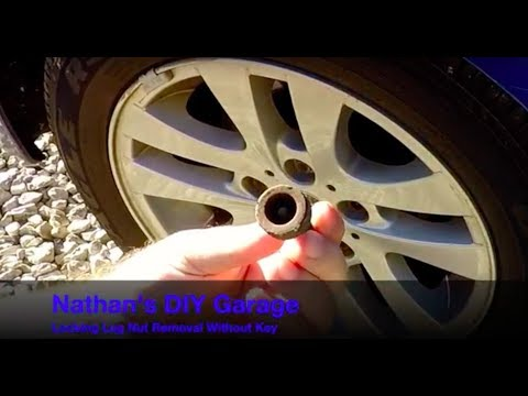 A Must Watch !!! How to Remove Locking Lug Nuts Without The Special Tool !!!