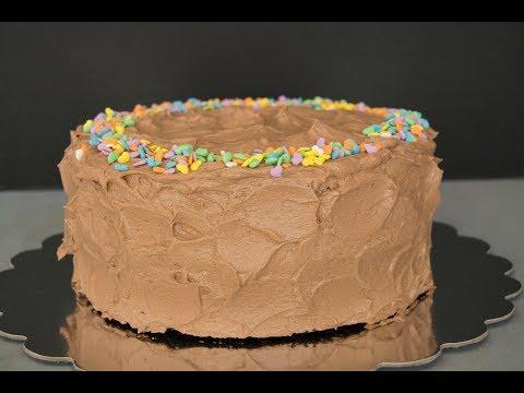 Receta de Pastel de Chocolate Con Buttercream de Chocolate   SyS