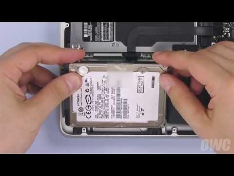 13-inch MacBook Pro Mid 2009 Hard Drive/SSD Installation Video