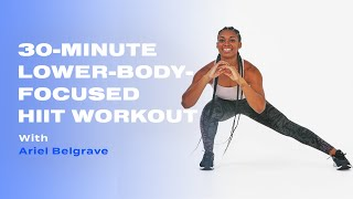 30-Minute Lower-Body-Focused Cardio HIIT Workout With Ariel Belgrave