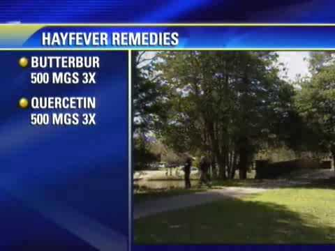 All-natural hay fever remedies