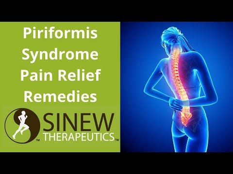Piriformis Syndrome Pain Relief Remedies