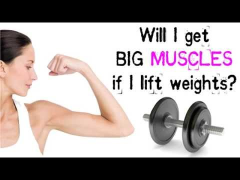 Women, Weight Lifting, and Big Muscles