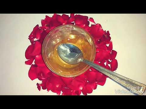 How to lighten skin Naturally Overnight : Glycerine | Rose water | Lemon