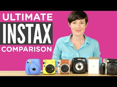 The Ultimate Fuji Instax Camera Comparison 2017