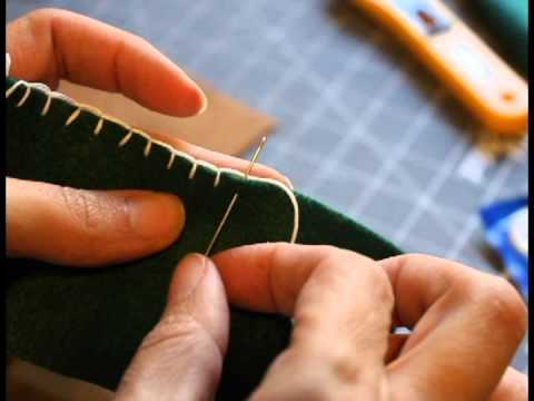 How to do (make) a blanket stitch