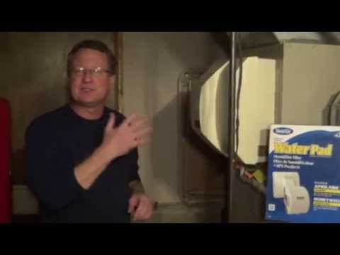 How to Change an Aprilaire Humidifier Pad - Aprilaire 700