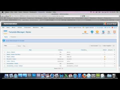 How to Delete Joomla 2.5 Templates / Joomla 1.7 / 1.6 Templates | THE BEST WAY