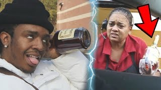 Drinking At The Drive thru Prank cops Called