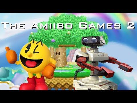 The Amiibo Games 2 - Round 3 Set 1   Grandpa (Pac-Man) vs. Gyrocologist (R.O.B.)