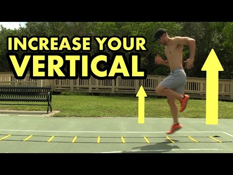 Increase Your Vertical Jump & Quickness - Agility Ladder Drills for Basketball