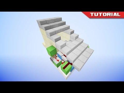 The Hidden Piston Stairs [Redstone Tutorial]