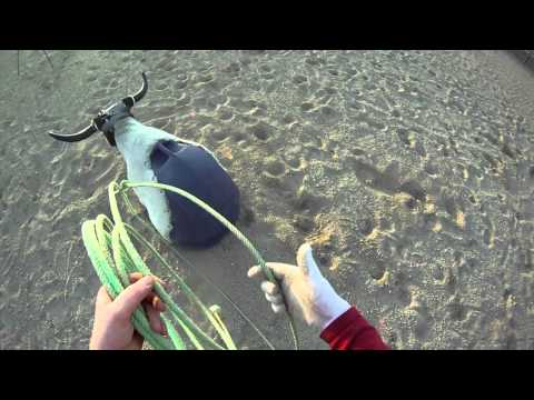 Learn to rope: step 5 catching the dummy