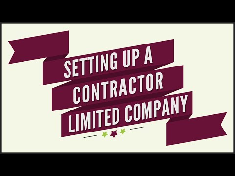 A Quick Start Guide to Setting Up a Ltd Company for Contracting