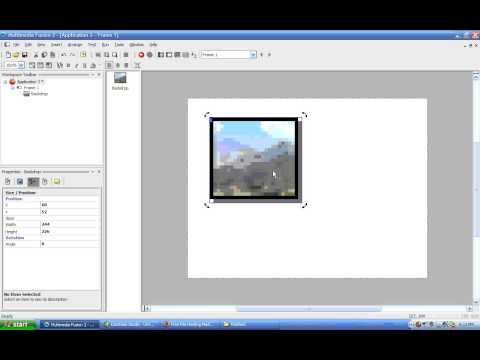 MMF2 Video Tutorial 02 - Backdrop