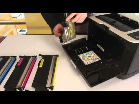 How to Replace Samsung CLTW407 Waste Toner Tank in Samsung CLP 325 or Similar Models