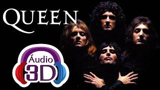 Queen - Bohemian Rhapsody - 3D AUDIO (TOTAL IMMERSION)