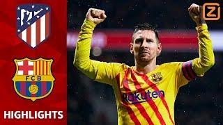 KRAKER in het WANDA METROPOLITANO💥 | Atletico Madrid vs Barcelona | La Liga 2019/20 | Samenvatting