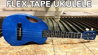 Download Ukulele Cut In Half with a 60,000 PSI Waterjet Video