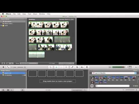 iMovie Tutorial: Import From iPhoto