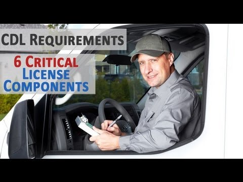 CDL Requirements - 6 Critical CDL Training Test Components (Including Endorsements & Classes)